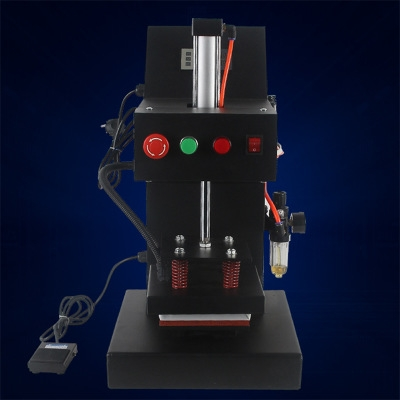 台州Pneumatic Thermal Transfer Press Pneumatic Stamping Machine LOGO Stamping Machine
