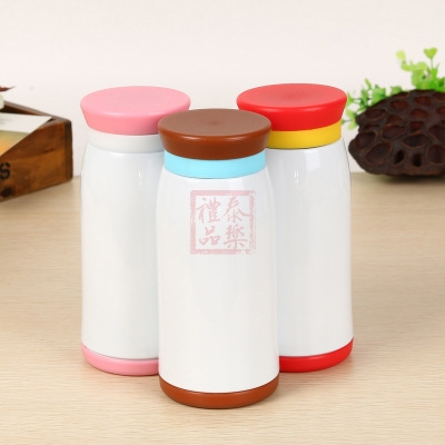 Wholesale hot transfer cup printing photo cup gift cup blank coating hot transfer belly cup printable logo hot stamping machine
