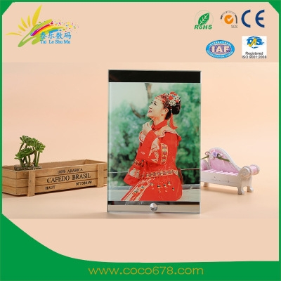 Heat Transfer Machine Manufacturer Wholesale Heat Transfer Printing Crystal Photo Frame Yiwu Plexiglass Crystal Crafts Two Side Mirror BL-03 Hot Printing Machine