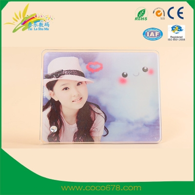 宁波Hot Transfer Printing Crystal Glass Painting Glass Frame Consumables Wholesale Crystal Frame BL-06