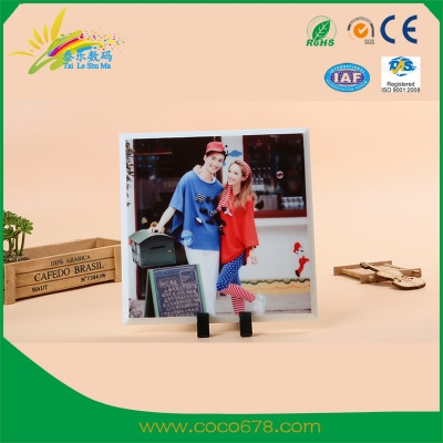 Heat Transfer Printer Manufacturer Heat Transfer Individual DIY Frame Glass Painting High-grade Jade White Long Glass Frame BY33 Wholesale