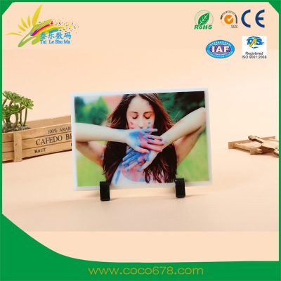 Hot Transfer Glass Painting Manufacturer High-grade Jade-white Glass Individual DIY Permanent Picture Frame BL35 Wholesale